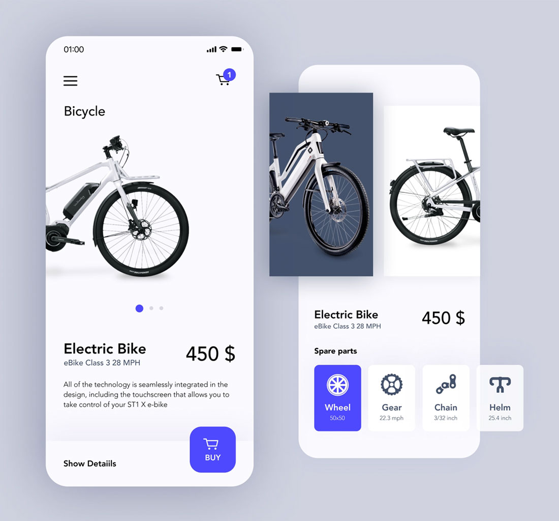 Electric Bike IOS Application